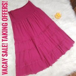 CAbi Cinema Pink Flirt Skirt (33) Retail: $110